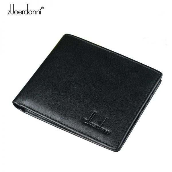 2016 Real Wallets Men Leather Bifold Wallet Removable Flip Up Id Window with Passcase  Men Wallets Multiple Color Choices A220
