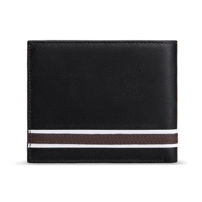DEELFEL Genuine Leather Men Wallets And Purses