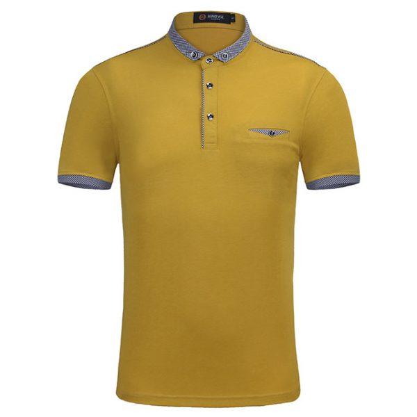 Brand Clothing Men Polo Shirt – High Quality Mercerized Cotton Camisa Polo Slim Fit
