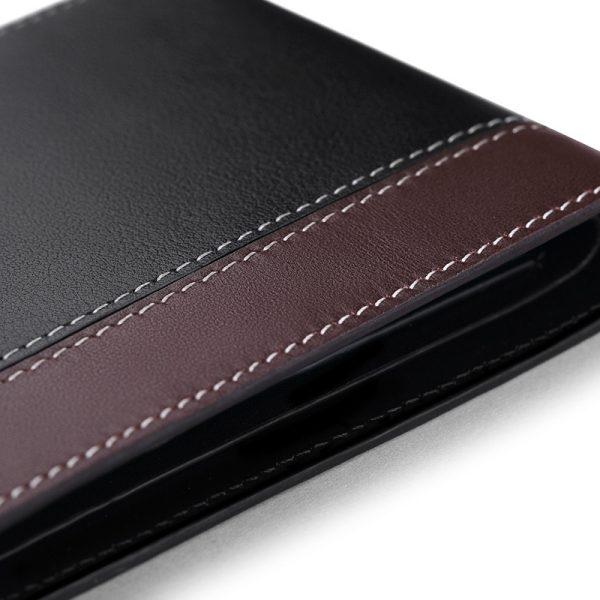 DEELFEL Brand New Genuine Leather Wallet For – Men Business Purse
