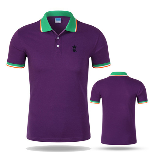 Sergio k Camisa Solid Polo Shirt For Men – Short Sleeve Slim Embroidery Mens Polo Shirts