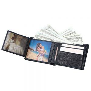 Men's Vintage Wallets 100% Genuine Leather Wallet