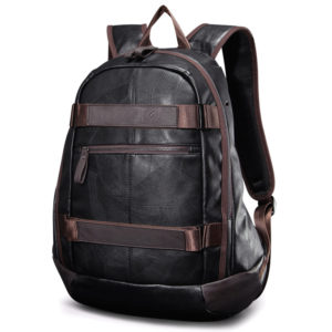 Vintage Men's Leather Backpack – Large Travel Laptop Bag For Men