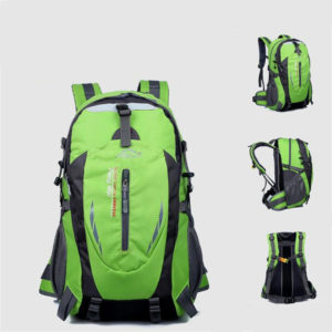 Hot Sale Nylon Black Backpack – Waterproof Men's Back Pack Laptop
