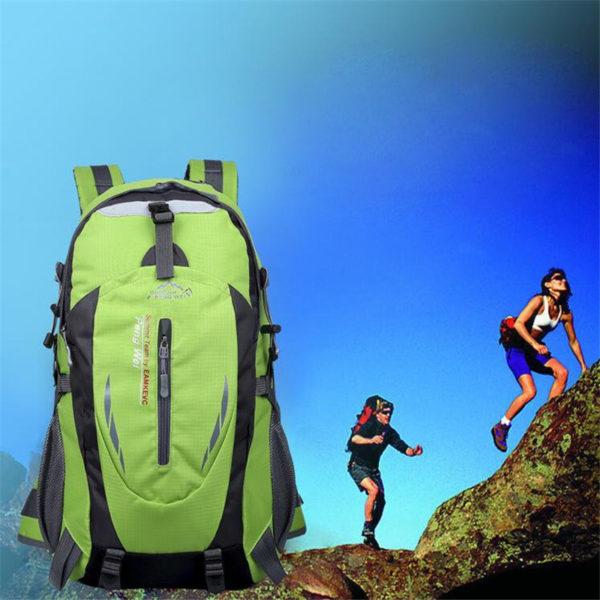 Hot Sale Nylon Black Backpack – Waterproof Men's Back Pack Laptop