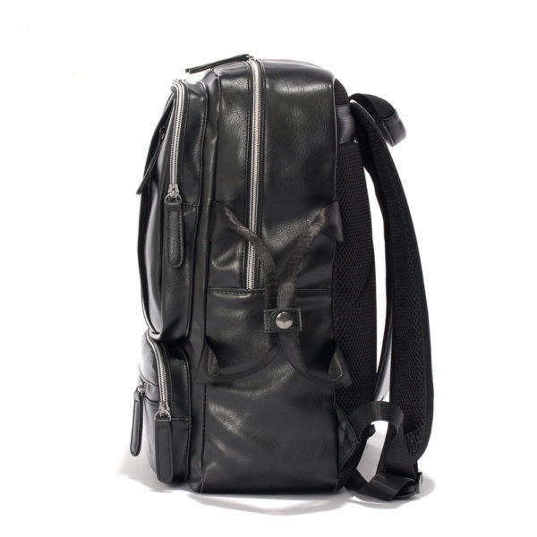 Backpacks for Men – PU Leather Men's Shoulder Bags For Business & Casual Style