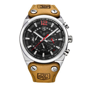Men's Sport Watch – Skeleton Military Chronograph Quartz For Man