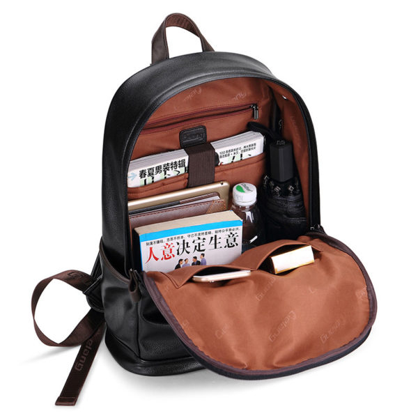 Men Leather Backpack Leather – Waterproof Bags For Men