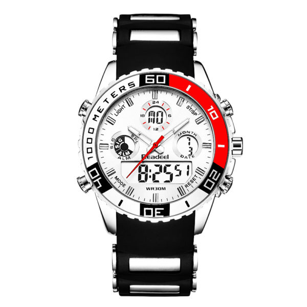 Readeel New Military Sports Watches For Men –  Alarm Waterproof Watch LED Light Shock Digital Wristwatches