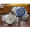 Fashion Men Watch Men – Automatic Mechanical Blue Wrist Wristwatch (Stainless Steel)