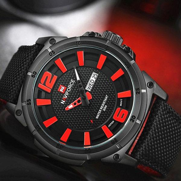 Men's Luxury Watch – Military Watch For Men (Quartz Watch Sports With Date)