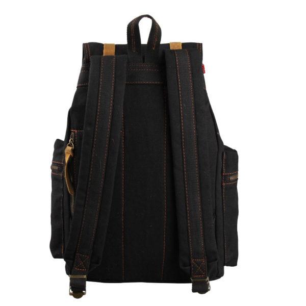 Men's Canvas Backpack (Vintage Laptop Bag) – For Casual & Business Purpose