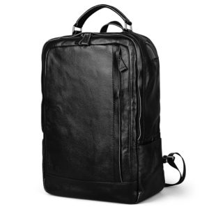 Genuine Leather New Fashion Men Luxury Backpack –  High Quality Waterproof Laptop Travel Backpack