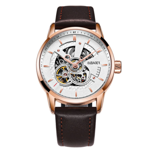 Top Brand Luxury Automatic Mechanical Men's Watch – Leather Military Watches For Men