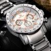 Fashion Quartz Watch For Men – Waterproof Luminous Wrist Watch With Large Dial