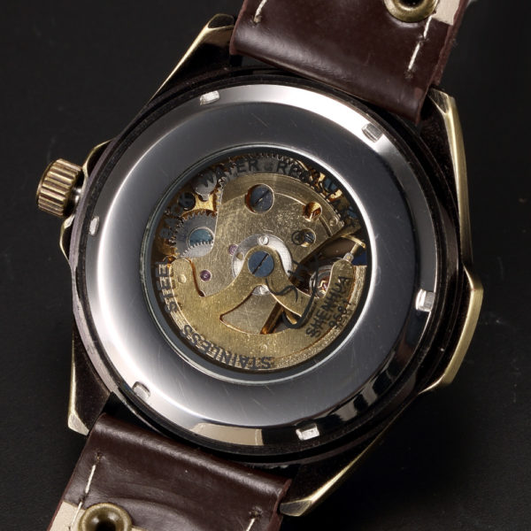 Mechanical Automatic Skeleton Watches For Men – Steampunk Wrist Watch With Power Self Widing