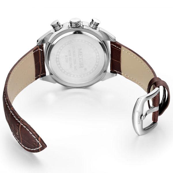 Genuine Quartz Men's Chronograph Watches – Genuine Leather For Men & Students