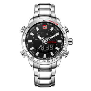Men's Analog Stainless Steel Watch (Luxury Fashion Sport Wristwatch)