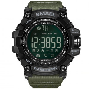 SMAEL Mens Chronograph Digital Watches (Waterproof, LED, Digital)