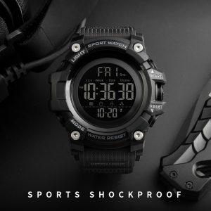 SKMEI Digital Watch For Men(Luxury Wrist Watch, Waterproof, LED, Digital, Countdown, Stopwatch) 1