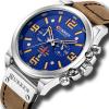 Luxury Leather Strap Men's Watches Wristwatches