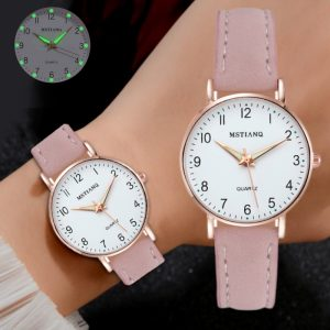 2020 NEW Watch Women Fashion Casual Leather Belt Watches Simple Ladies' Small Dial Quartz Clock Dress Wristwatches Reloj mujer 1