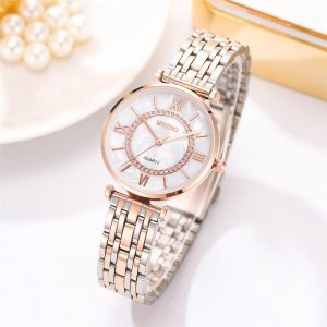 SZWW005 Women's Fashion Watch Fashion (Diamond / Stainless Steel Silver)